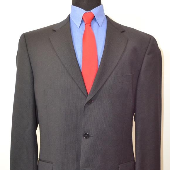 Joseph Abboud Other - Joseph Abboud 42L Sport Coat Blazer Suit Jacket Bl